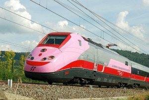 treno rosa